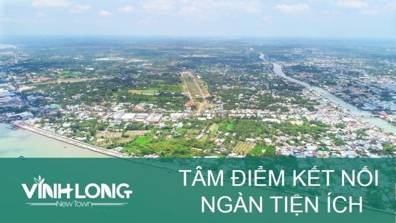Vĩnh Long New Town nhìn từ trên cao