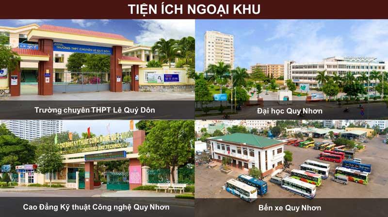 Tiện ích ngoại khu Grand Center thành phố Quy Nhơn