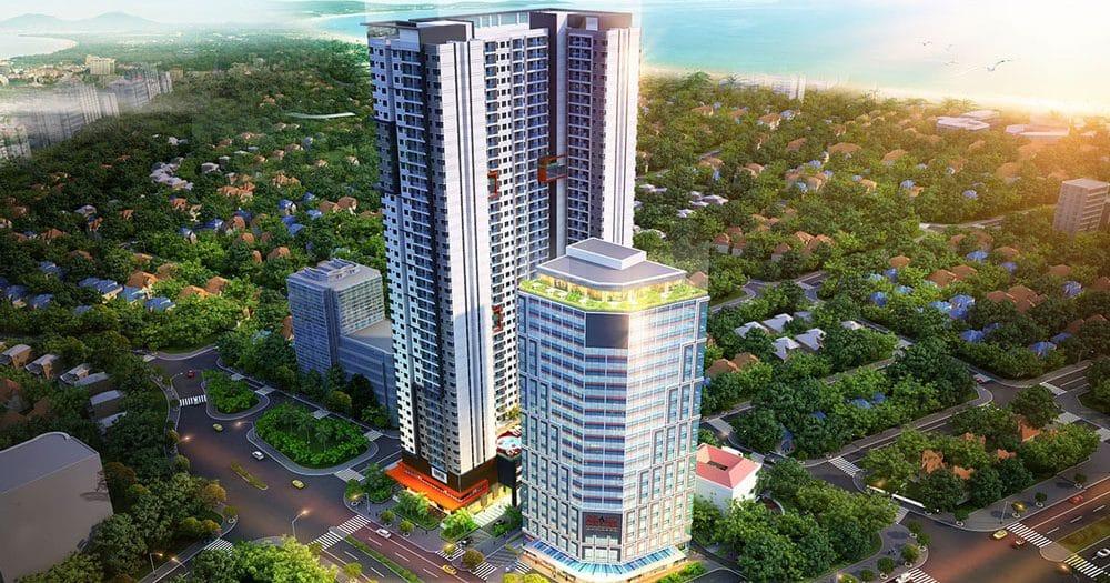 Phối cảnh dự án Grand Center Quy Nhơn