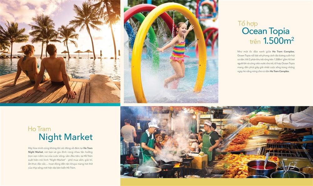 Tổ hợp Ocean Topia 1.500m2 và Ngiht Market